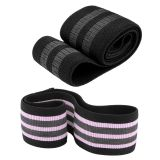 Custom logo stretch fitness loop leg training hip band