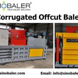 Corrugated Offcut Baler Machine