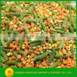 Chinese Frozen mixed vegetable 500g Factory