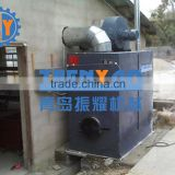 Coal-Burning Hot Air Stoven for Greenhouse Heating System