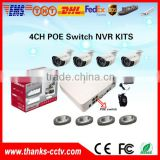 2016 Thanks Nice Quality Model Promotion Hot Selling POE NVR Wireless cctv camera kit