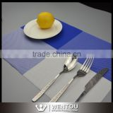 New Waterproof PVC Insulation Dining Table Placemats