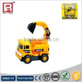Electric plastic mini toy excavator