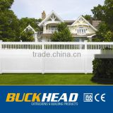 Privacy white vinyl fence boards,cheap vinyl fence