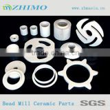 Bead Mill Use Yttria Stabilized Zirconia Industrial Ceramic Dispersion Plates, Ceramic Parts