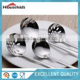 Silver Stainless Steel Home Kitchen Restaurant Spoon Soup Ladle - 2