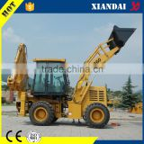 Alibaba express XD860 4wd Articulated small backhoe loader for sale made in china with ce