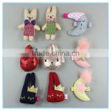 Novelty children japanese hair accessories, fabric hair clip, kids korean hair accessories wholesale