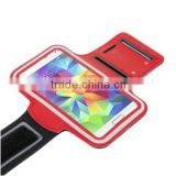 Wholesale new fashion style waterproof sport phone case with armband for Samsung Galaxy S5
