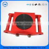 Single Max 40 Tons 360 Degree Roating Cargo Pallet Transport Trolley