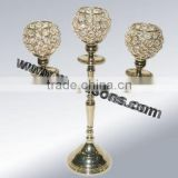 wholesale cheap tall crystal glass candelabracrystal candle holder for centerpieces wedding