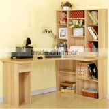 Furniture foshan china desk bookcase combination study table with bookshelf (SZ-FCB387)