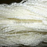 polyester/nylon slub/big belly yarn net yarn