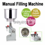 Wholesale Manual Liquid Filling Machine (5-50ml) For Cream Shampoo Cosmetic Food Filler
