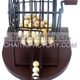 High Quality Classic BINGO SET with WOOD BALLS and WOOE
