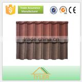 Advanced building construction materials/Classical type sheet color coated metal villa roof tile