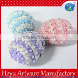 For hot sale handicraft design eggs easter new products promotional item Easter party felt