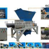 Strong two shafts industrial plastic lump crusher