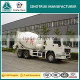 SINOTRUK manufacturer diesel engine concrete mixer truck for sale                                                                         Quality Choice