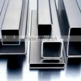 SUS 316L stainless steel square pipe weight and price per meter