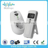 EU Styple Electronic Socket Digitales Thermostat Switch used to control home heating device