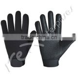 Cycle Gloves,Full Fingers Cycling Gloves,Silicon Gripped Cycling Gloves,Bike Gloves,Black Color Cycling Gloves