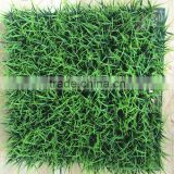 Garden decor 50*50cm plastic leaf fence hedge artificial grass mat