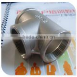 "Stainless Steel 316 Cast Pipe Fitting, Tee, Class 150, 1/2"" NPT Female"