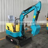 Cheap Mini Wheel Excavator LY08 with Bucket from China Manufacturers for Sale