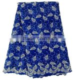 royal blue african guipure lace fabric top quality african cord lace for dress