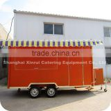 2014 Hot and Popular Refrigerated Big Cheese Simit Cake Food Delivery Van Trailer XR-FV400 A