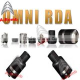 A-bomb sub ohm tank omni rda the most popular design omni rda atomizer in high quality the same function with the arctic rda