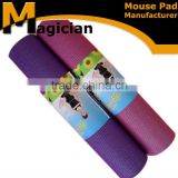 wholesale manufacturer yoga mats made of ECO-friendly rubber foam