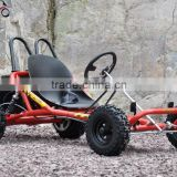 200cc 6.5HP Gas Powered Foot Throttle Cheap Racing Go Kart 4 wheeler QWMOTO