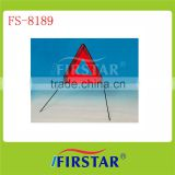 Emergency safety vest warning triangle with safety kit