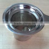 Top quality hot sales cheap tea strainer, etched mesh, stainless steel etched mesh tea strainer