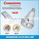 AC/DC rechargeable lamp LED bulb