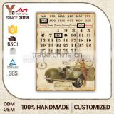 Export Quality Custom Printed Calendar Personalized Plaque Lightweight Wall Plaques Decoration