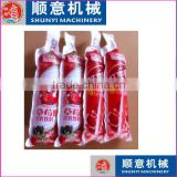 juice and Flavour Instant Drink liquid in shaped pouch/bag/ sachet packaging fill and seal packing machine