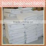 100% polyester hotel bedsheet fabric of good quality best price china manufacturer