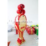 Special fibreglass Santa time clock kids entertainment in Shopping Mall