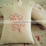 5g,10g,15g,20g,25g,30g many size for your choice beautiful linen embroidery sunflower potpourri sachet