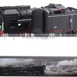 861WB classic retro-style alloy model train steam locomotive sound and light back toys HO scale 1:87                                                                         Quality Choice