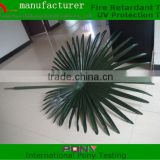 High simulation Artificial palm tree leaves/Fake Palm leaves/Silk leaves/plastic palm leaves