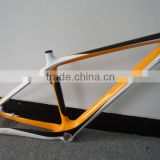 Factory supplier hard tail fashional unfolding full carbon fibre mountain bike frames for sales