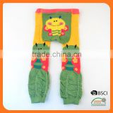 Custom sock wholesale Baby Legging with wide back panel