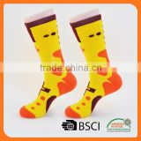 wholesale factory coloured selective terry merino wool socks