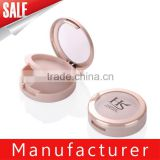 Round cosmetic blush empty containers with window