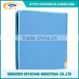 China Factory Wholesale Accept Customed Business Binder Zipper Portfolio