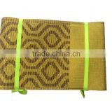 High quality yellow gele aso-oke / nigeria headtie aso oke for lady party / african style aso oke